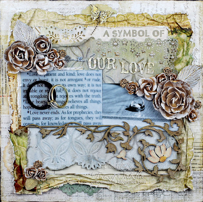"""A Symbol of Our Love"" ***DT for ScrapThat! July Kit***"