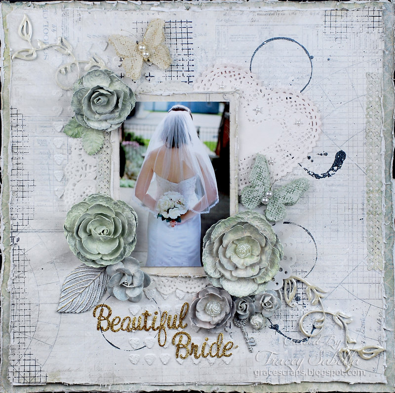 """Beautiful Bride"" ***DT for ScrapThat! July Kit***"