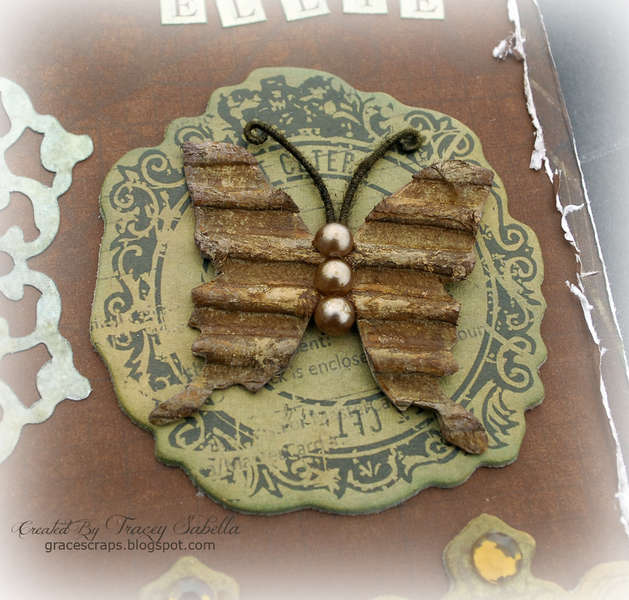 Corrugated Butterfly Tutorial