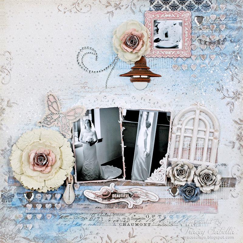 Beautiful ~ DT for Donna Salazar Designs/Scrap Around the World