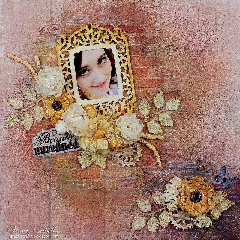 """Beauty Unrefined"" for Donna Salazar Designs"