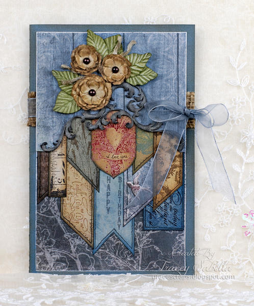 """Birthday Card ~ Husband"" **ScrapThat! April Kit Reveal DT**"