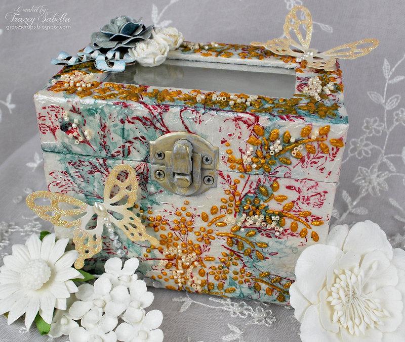 Butterfly Trinket Box ~ DT for Donna Salazar