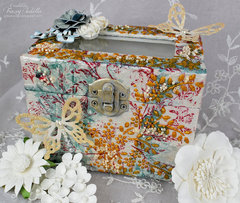 Butterfly Trinket Box ~ DT for Donna Salazar