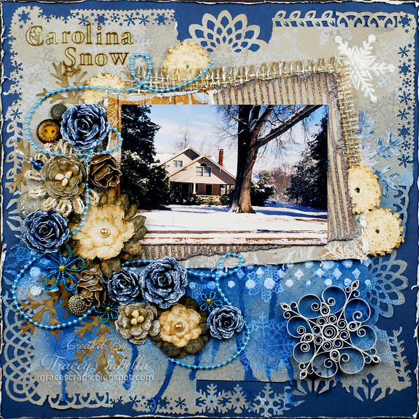 "Carolina Snow ***ScrapThat! Jan. ""Flakes of Snow"" Kit Reveal DT***"