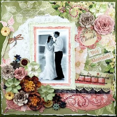 """Cherish this Moment"" **ScrapThat! March ""New Blooms"" Kit Reveal DT**"
