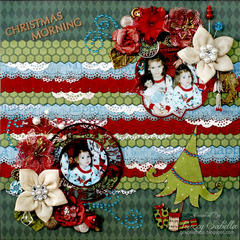Christmas Morning ~ The Scrapping Stamper ~