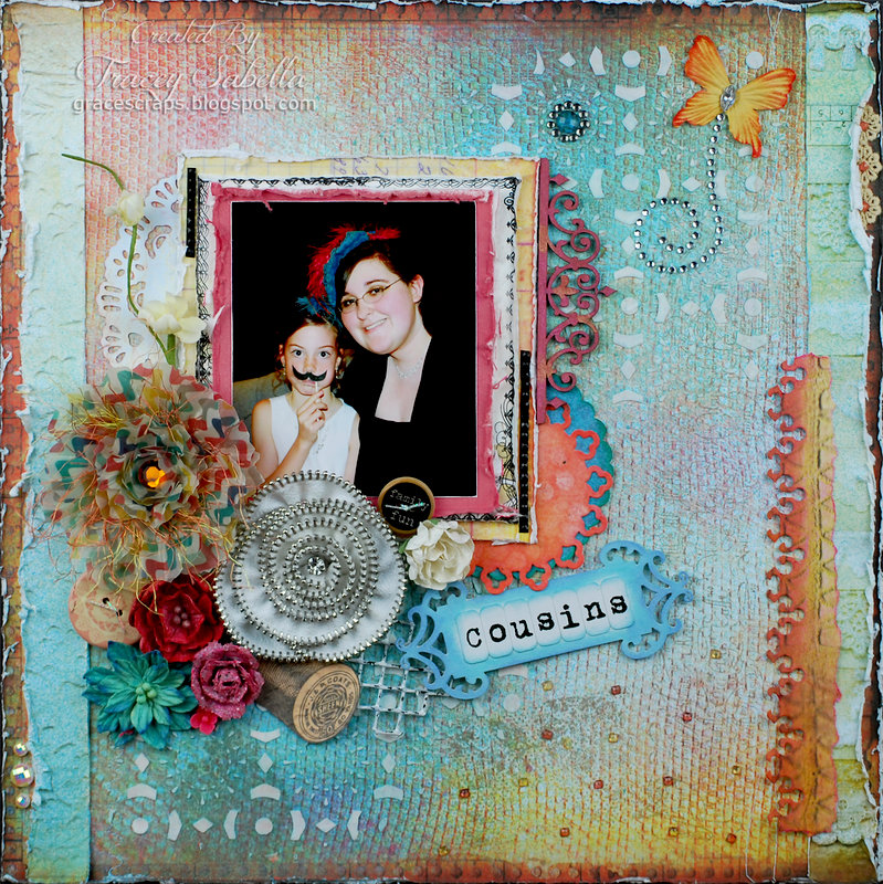 """Cousins"" **DT ScrapThat! June Kit Reveal**"