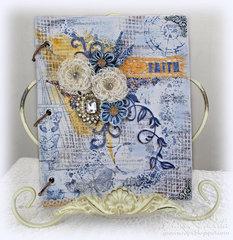 Faith Art Journal for Donna Salazar CHA