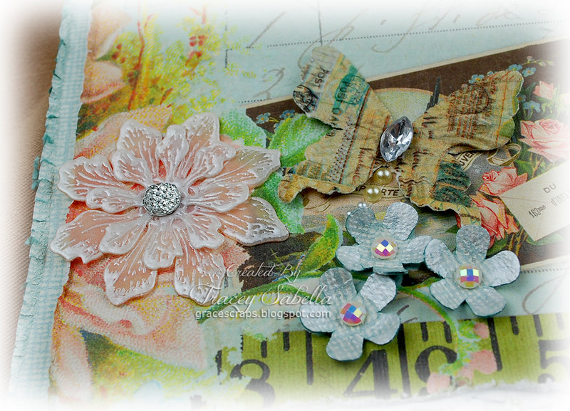 Embossed Vellum Flower Tutorial **DT ScrapThat!**