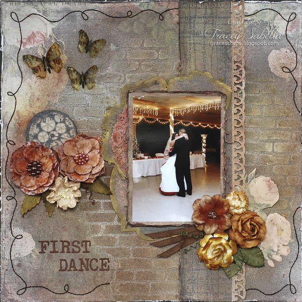 First Dance ***ScrapThat! October Tip Toe Through Fall Kit Reveal***