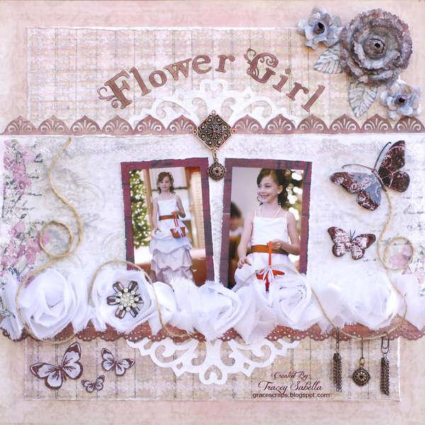 Flower Girl for Challenge Me Happy