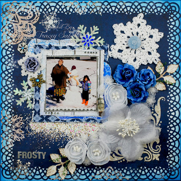 "Frosty ***ScrapThat! Jan. ""Flakes of Snow"" Kit Reveal DT***"