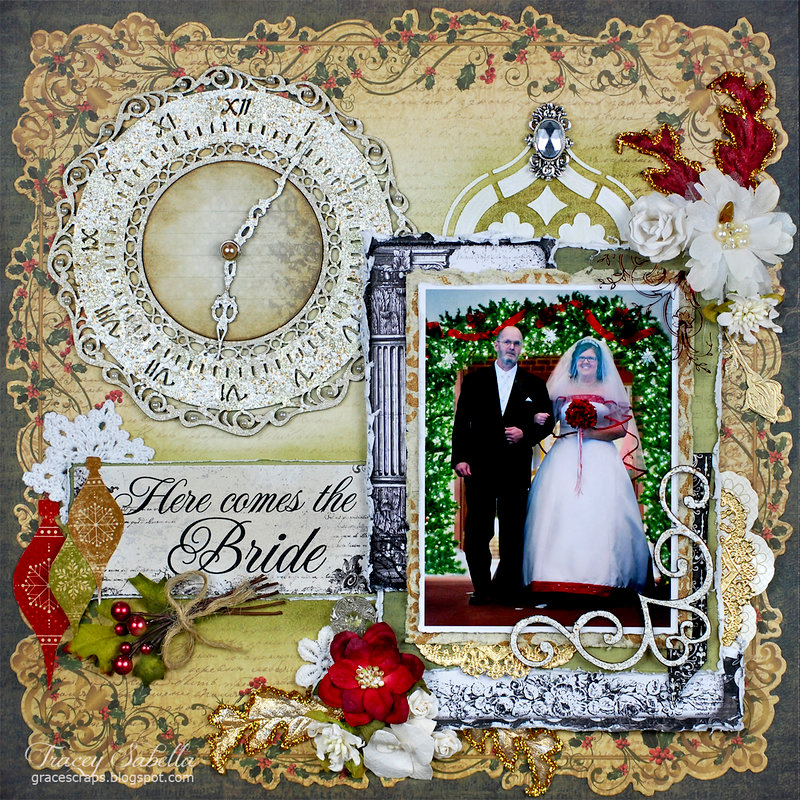"""""""Here Comes the Bride"""" DT for Helmar"""