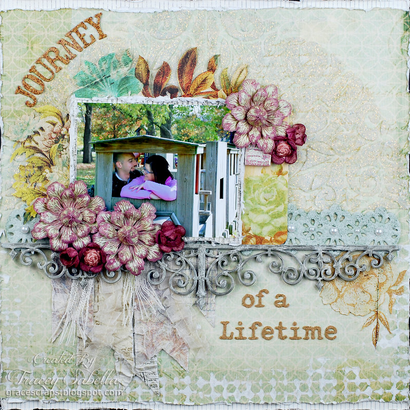 """Journey of a Lifetime"" ***DT for ScrapThat! July Kit***"