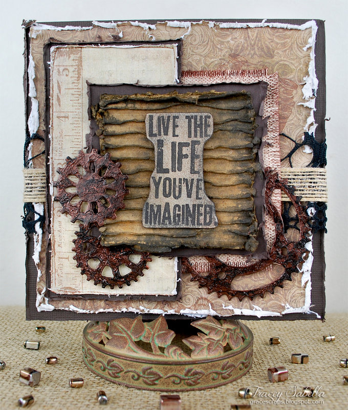 """Live the Life"" Card ~ DT for Donna Salazar"