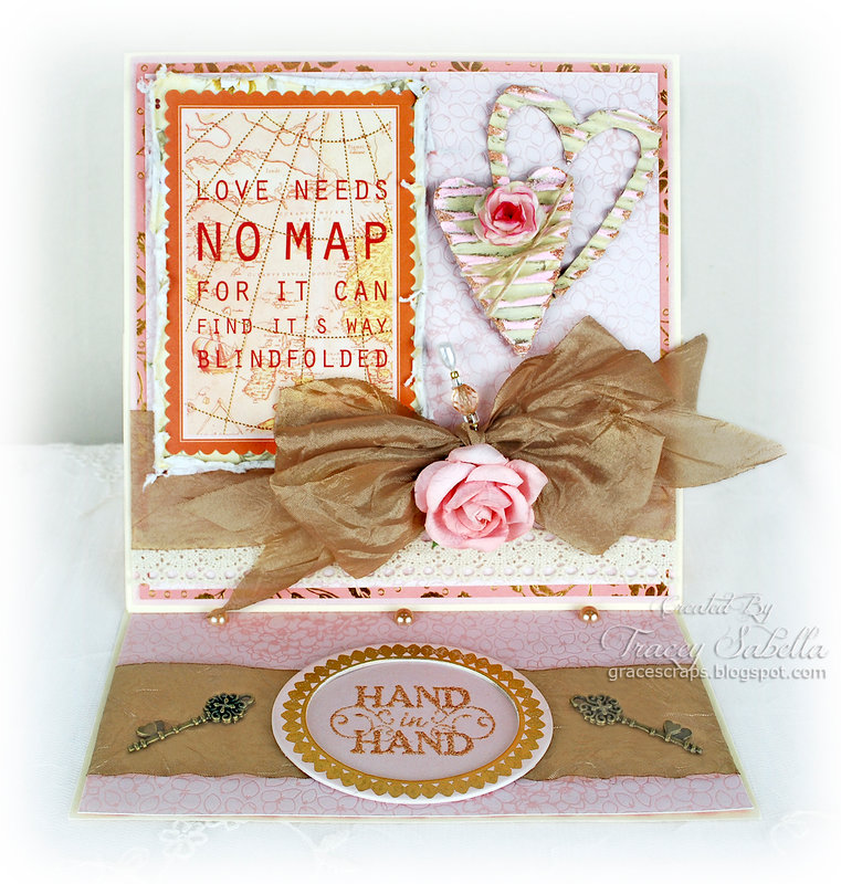 """""""Love Needs No Map"""" ~ DT for Really Reasonable Ribbon"""