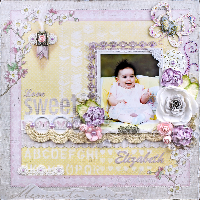 """Love Sweet Elizabeth"" DT for ScrapThat! August Days to Remember Kit"
