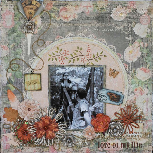 Love of My Life ***ScrapThat! October Tip Toe Through Kit Reveal***