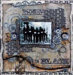 """""""Men in Black"""" ~ DT for Donna Salazar"""