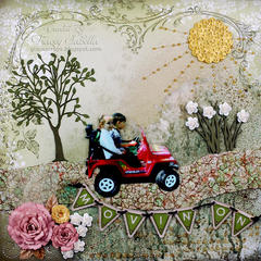 """""""Movin' On"""" **ScrapThat! March """"New Blooms"""" Kit Reveal DT**"""