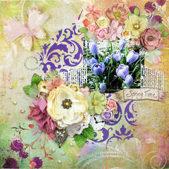 """Spring Time"" ***SEM Blog Hop DT***"