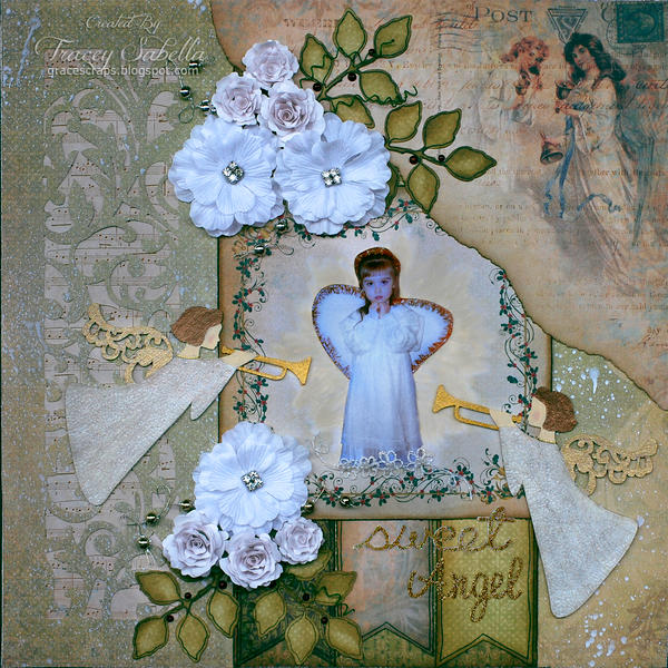 "Sweet Angel ~~~ScrapThat! December ""Memories . . ."" DT~~~"