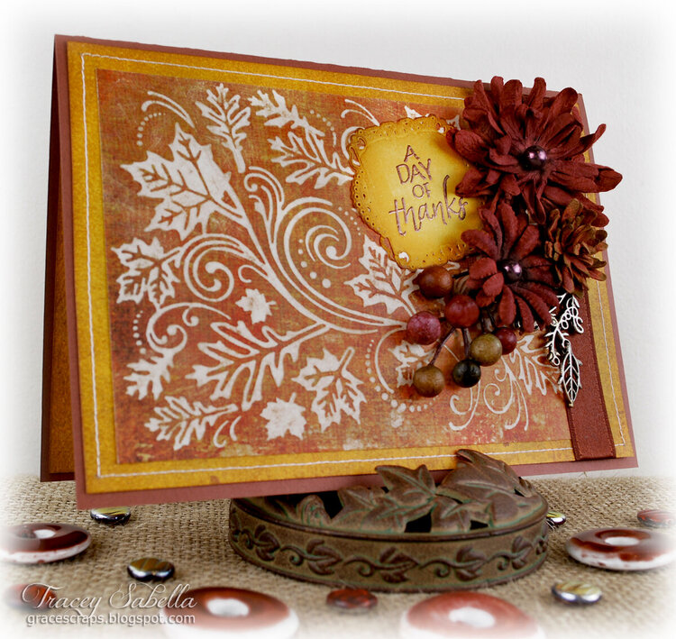 Thanksgiving Wishes ~ DT for Helmar