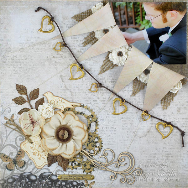 """The Journey Awakens the Soul"" **ScrapThat! April Kit Reveal DT**"