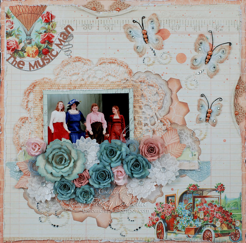 """The Music Man"" *** ScrapThat! May Anniversary Kit Reveal DT***"