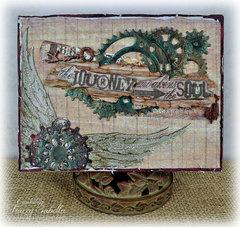 The Journey Birthday Card ~ DT for Donna Salazar