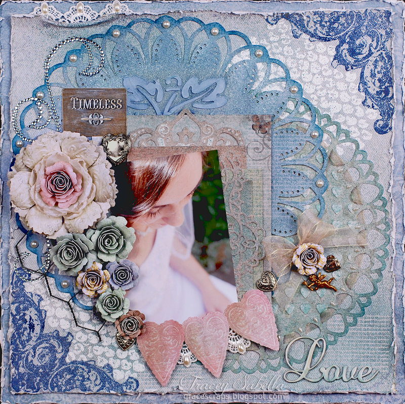 """Timeless Love"" ~ DT for Donna Salazar Designs"