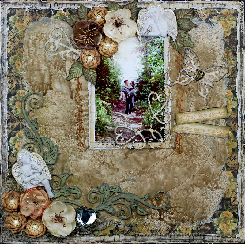 """True Love Stories"" ***ScrapThat! February ""With Love"" Kit Reveal DT***"