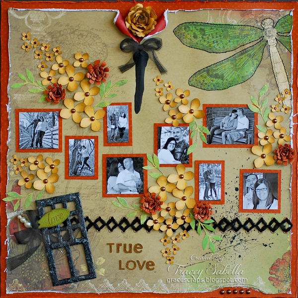 "True Love ~~~ScrapThat! November ""Remember When"" Kit with Sketchabilities~~~"