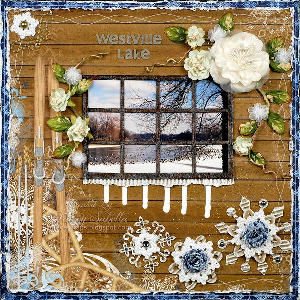 "Westville Lake ***ScrapThat! Jan. ""Flakes of Snow"" Kit Reveal DT***"