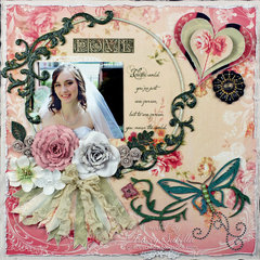 """""""You Mean the World"""" **ScrapThat! March """"New Blooms"""" Kit Reveal DT**"""