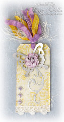 Butterfly Tag DT for ScrapThat! August Days to Remember Kit