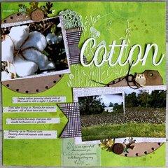 Cotton- my favorite fabric
