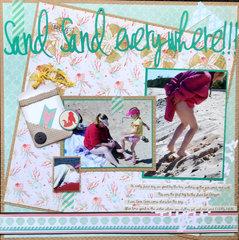 Sand Sand Everywhere!!!