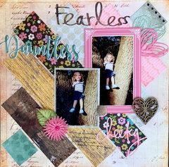 Dauntless Fearless Cheeky