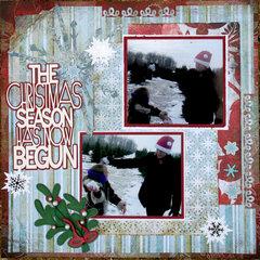 The Christmas Season Has Begun