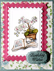 Stamped Birthday Wishes