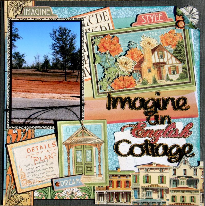 Imagine English Cottage