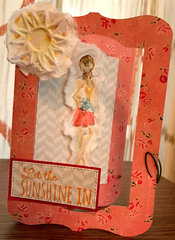 Sunshine - tissue card