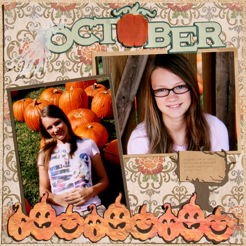 October is for Pumpkins!