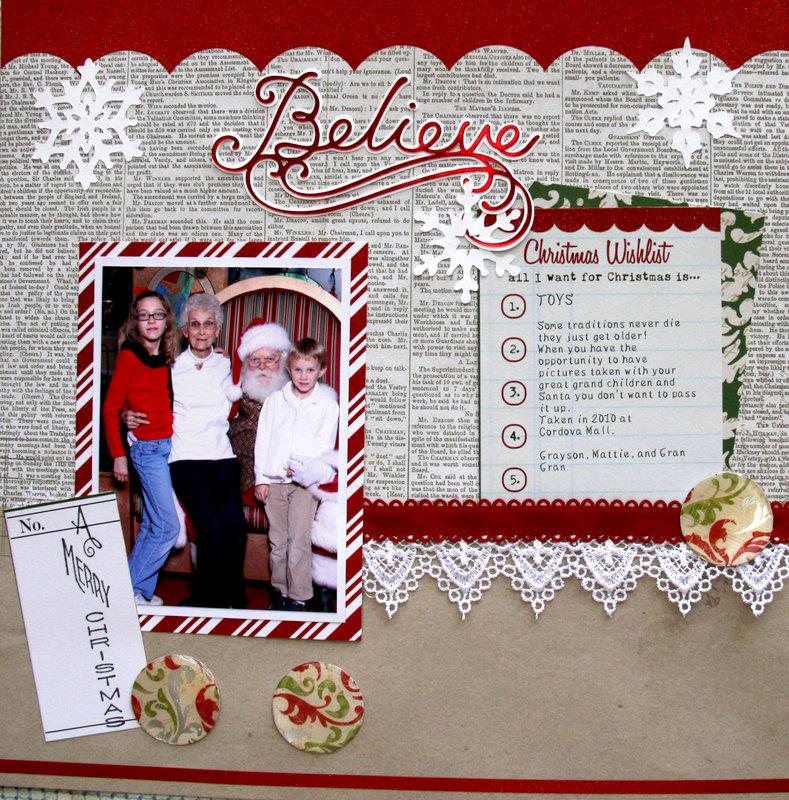 Santa: I Believe