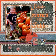 Cutiest Pumpkin