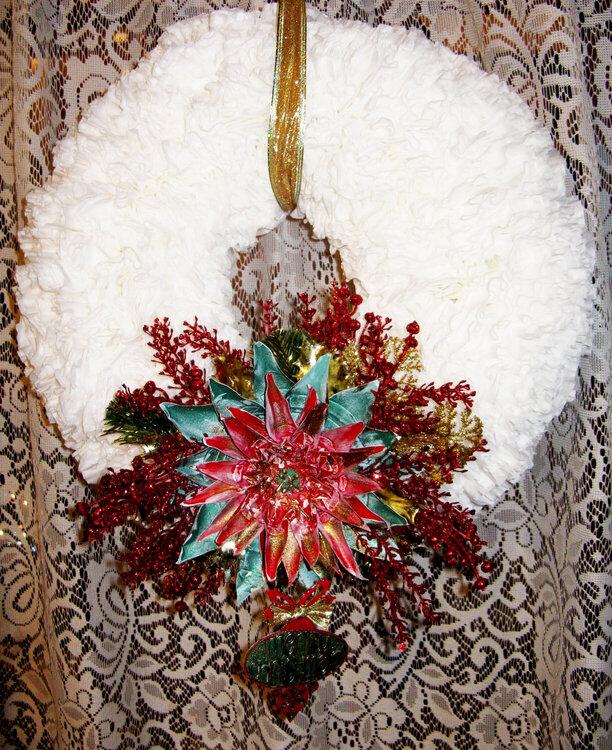 Scrap Fx (christmas coffee filter wreath)