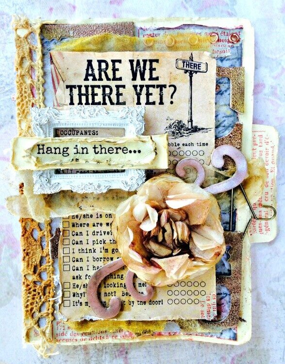 """""""hang in there"""" Donna Salazar Designs"""