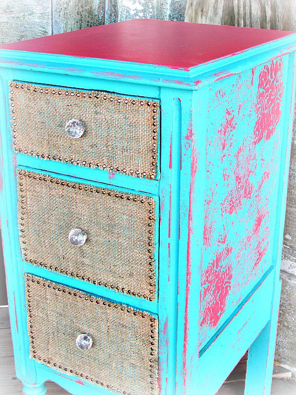Altered night stand (Tattered Angels)
